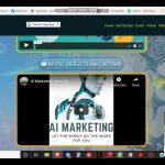 AI Marketing review Splash Page Video