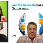 Onpassive updates Lynn Mie Nakamoto was live with Chris Johnson