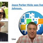 Onpassive products Joyce Parker Hicks was live with Chris Johnson
